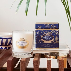 2 2602 PC Festive Blue CLEAR candle 2 900X900